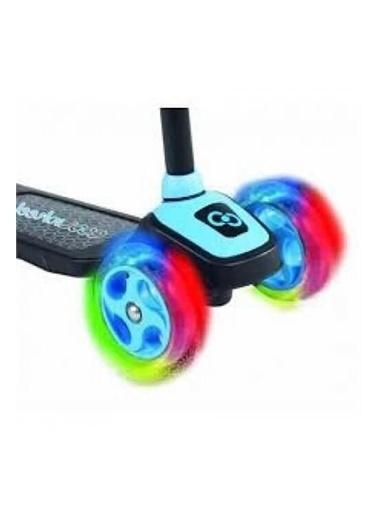 Furkan Toys Pembe Cool Wheels Led Işıklı 3+ Tekerlekli Yükseklikayarlıscooter Renkli